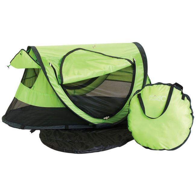 Kidco Green Sleeping Bag Peapod Plus, Kiwi