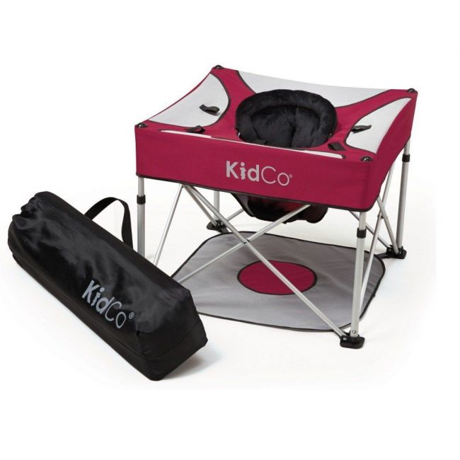 KidCo Red Go-Pod Baby Seat, Cranberry
