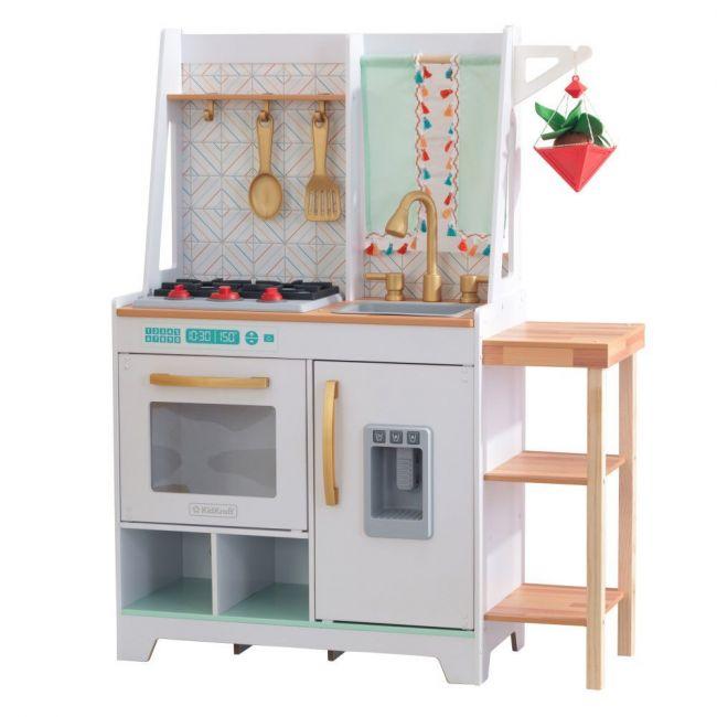 Kidkraft - Boho Bungalow Wooden Play Kitchen