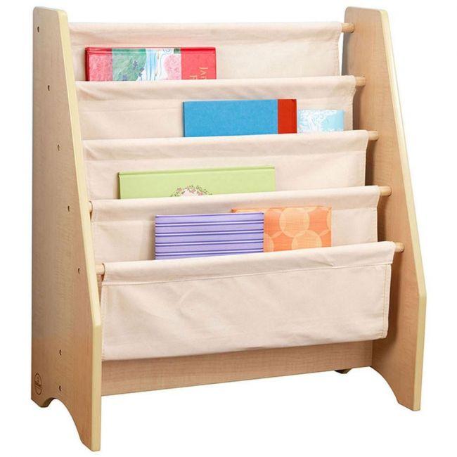 KidKraft - Sling Bookshelf Natural - Brown - Kids Toys