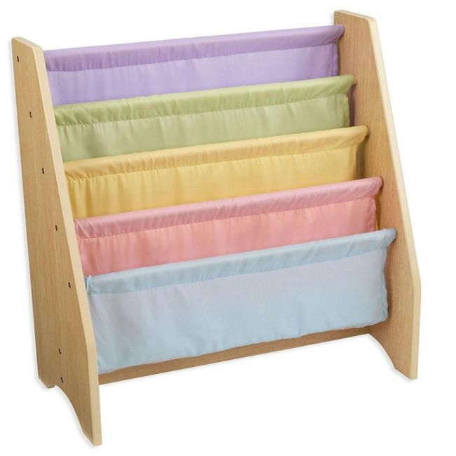 KidKraft - Sling Bookshelf Pastel - Brown - Kids Toys