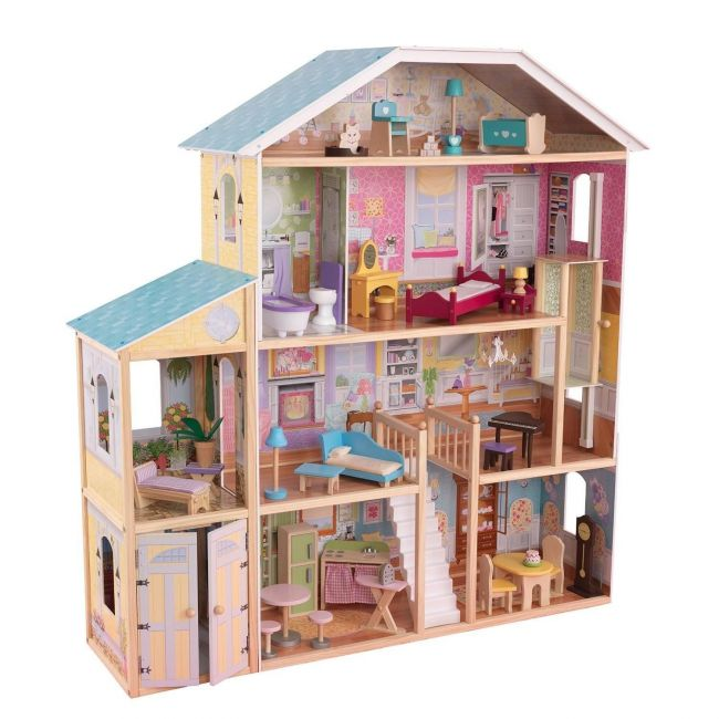 KidKraft - Majestic Mansion Wooden Dollhouse for Girls