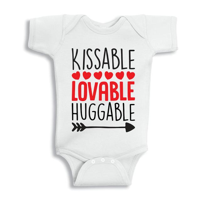 Twinkle Hands Kissable Lovable huggable Baby Onesie, Bodysuit, Romper