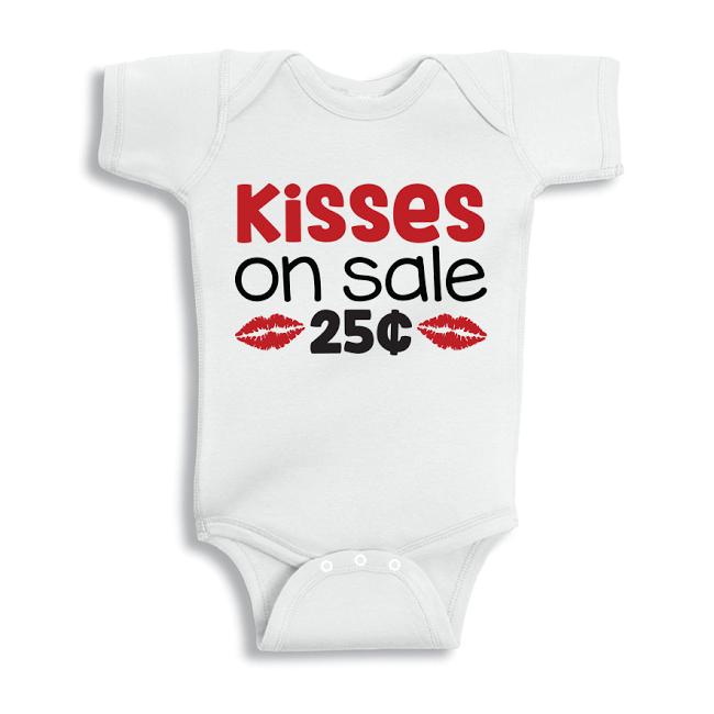Twinkle Hands Kisses on Sale Baby Onesie, Bodysuit, Romper