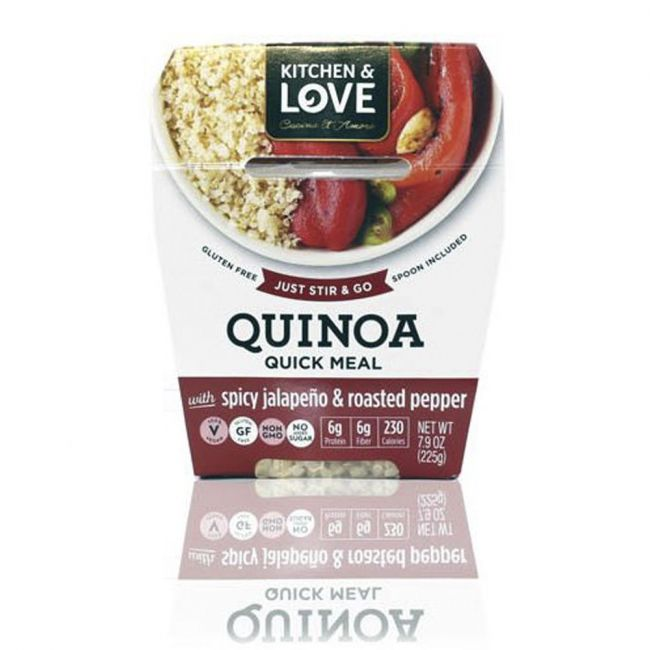 Kitchen love cucina & amore - Quinoa RTE Meal - Spicy Jalapeno & Roasted Peppers