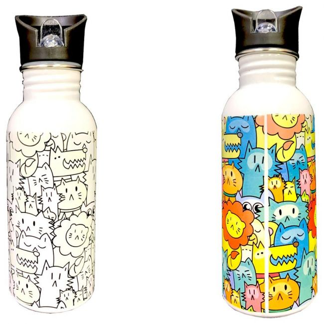 Knack - Animal Party Color Changing Magic Bottle 600Ml