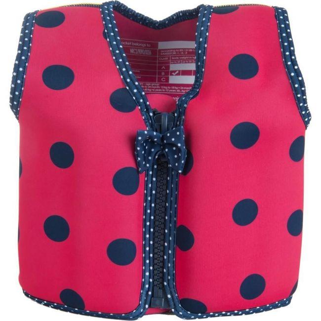 Konfidence Pink/Navy Children's Swim Jacket