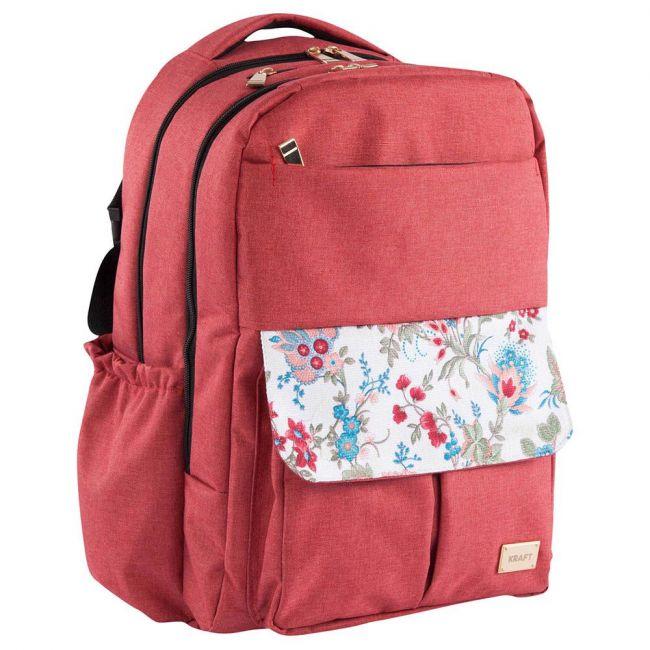 Kraft - Gardenia Back Pack - Burgundy