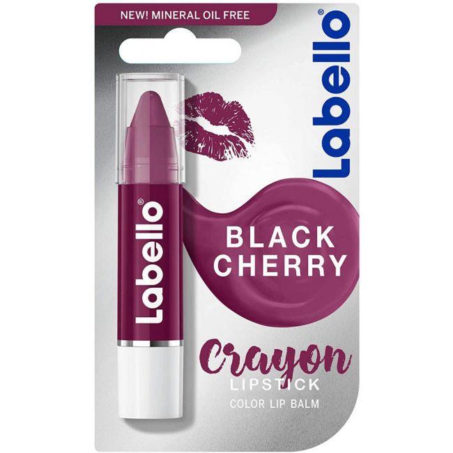 Labello - Black Cherry Crayon Lipstick - 3g