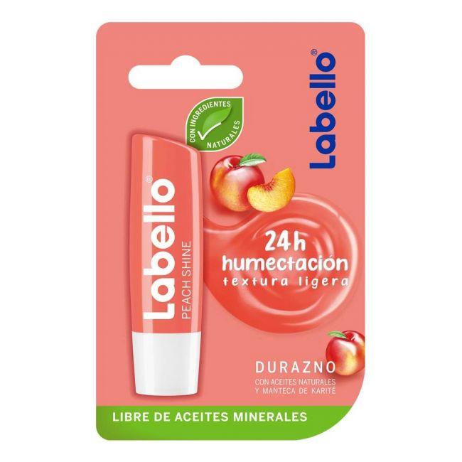 Labello - Lip Balm 4.8g - Peach Shine