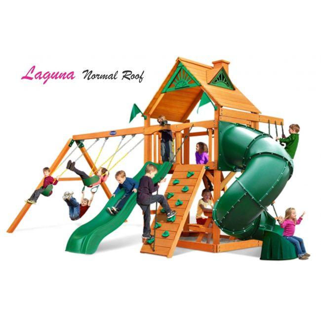 Playnation - Laguna Wooden Roof Swing Set