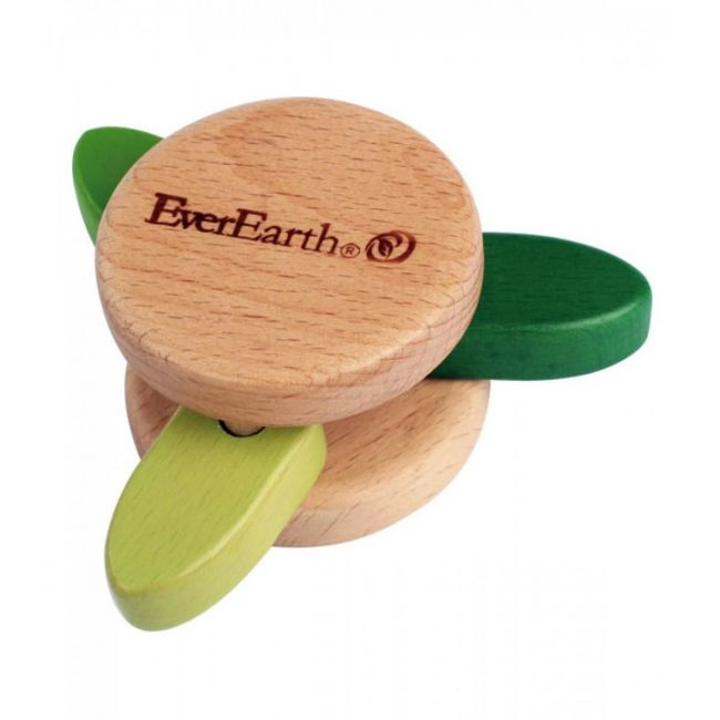 Ever earth Leaf rattle toy