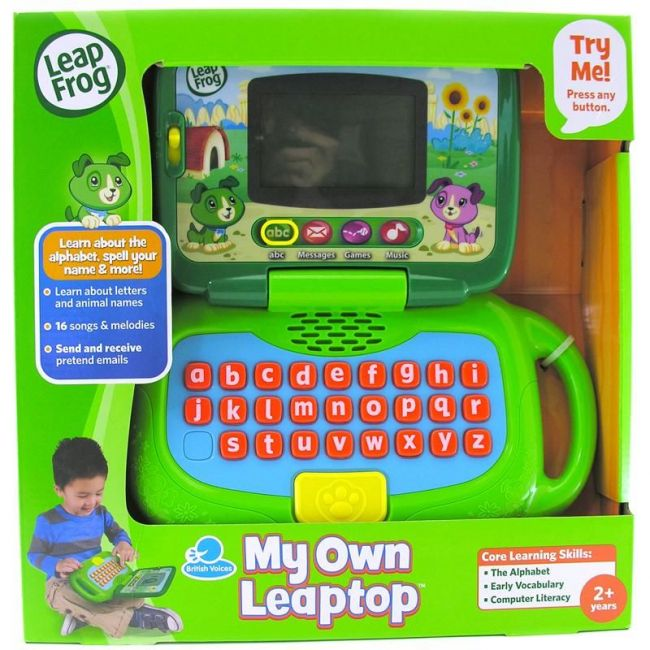 Leap Frog Green My Own Leaptop