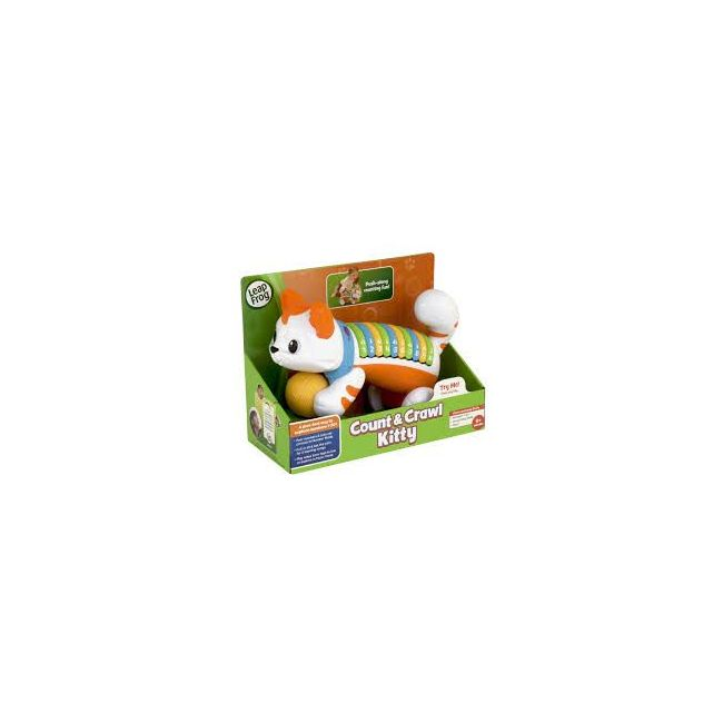 LeapFrog Orange Count & Crawl Number Kitty Musical Toy