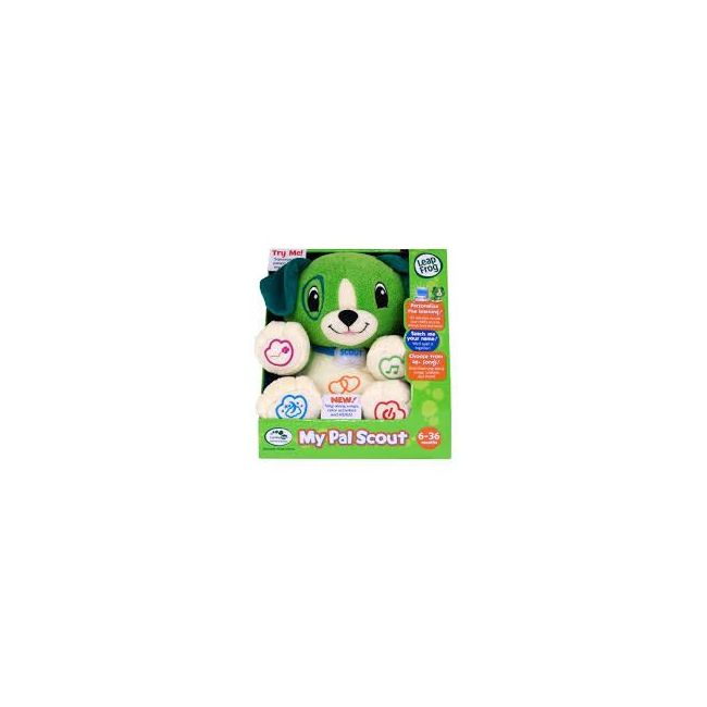 LeapFrog Green My Pal Scout Soft Toy