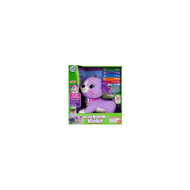 LeapFrog Violet Read with Me, Scout, Soft Toy