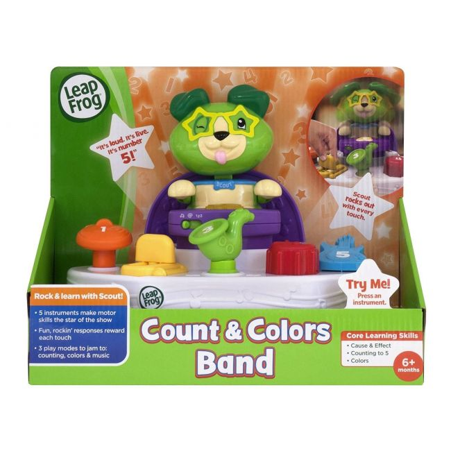 LeapFrog Scout's Count & Colors Band Musical Toy