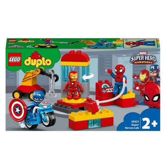 Lego - 10921 Super Heroes Lab