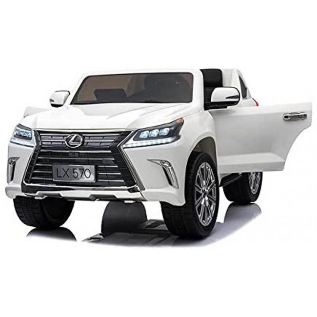 Lovely Baby - Lexus LX 570 Powered Riding SUV (White) 100% Assembled