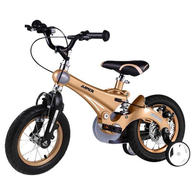 """Little Angel - 12"""" Kids Bike - Brown"""