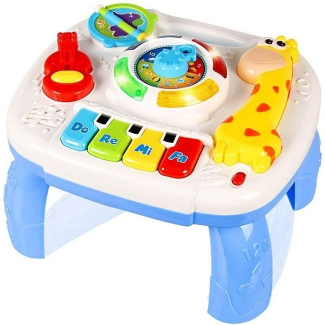 Little Angel - Activity & Learning Table With Music - Blue
