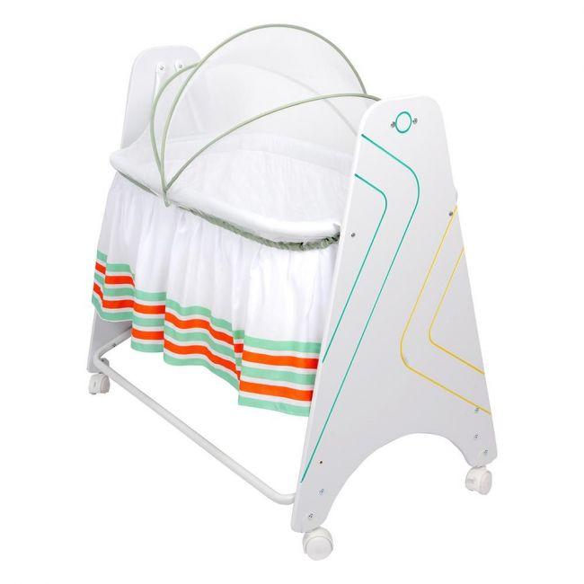 Little angel - Baby Cribs Sweet Dreams Bassinet - Multicolor