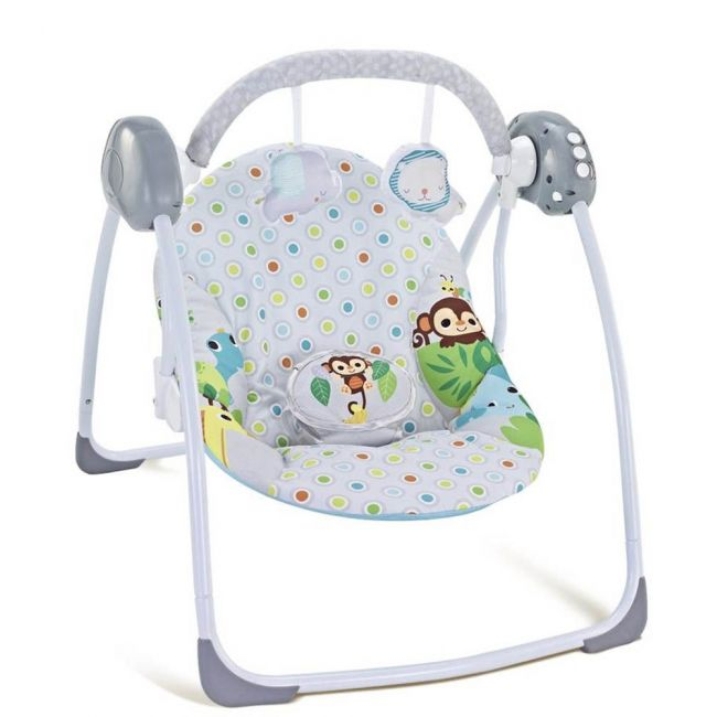 Little Angel - Baby Deluxe Electric Portable Automatic Swing pink