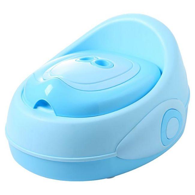 Little Angel - Baby Potty Seat - Bright Blue