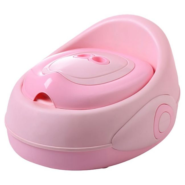 Little Angel - Baby Potty Seat - Bright Pink