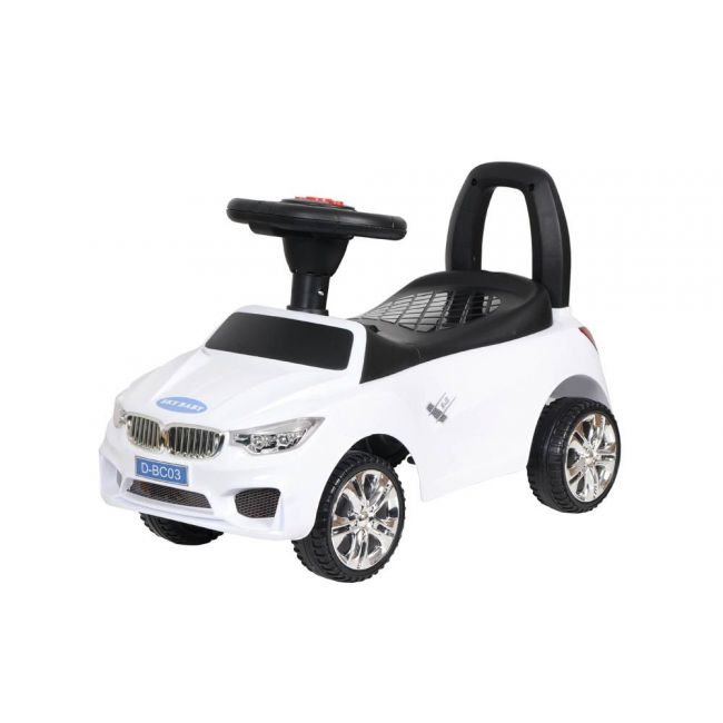 Little angel - Baby Toy Ride On Car - D-BC-03-WHITE
