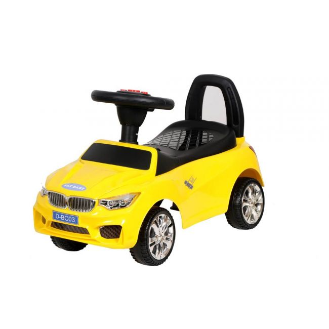 Little Angel - Baby Toy Ride On Car - D-BC-03 - Yellow