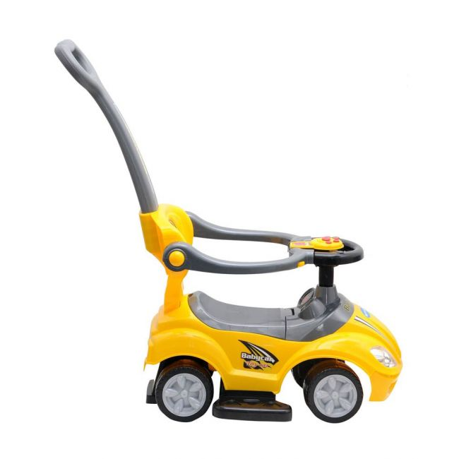 Little Angel - Baby Toy Ride On Car - J-BC8301P - Yellow