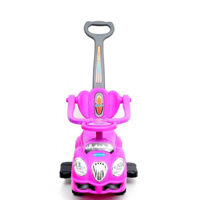 Little Angel - Baby Toy Ride On Car - J-BC8558P - Pink