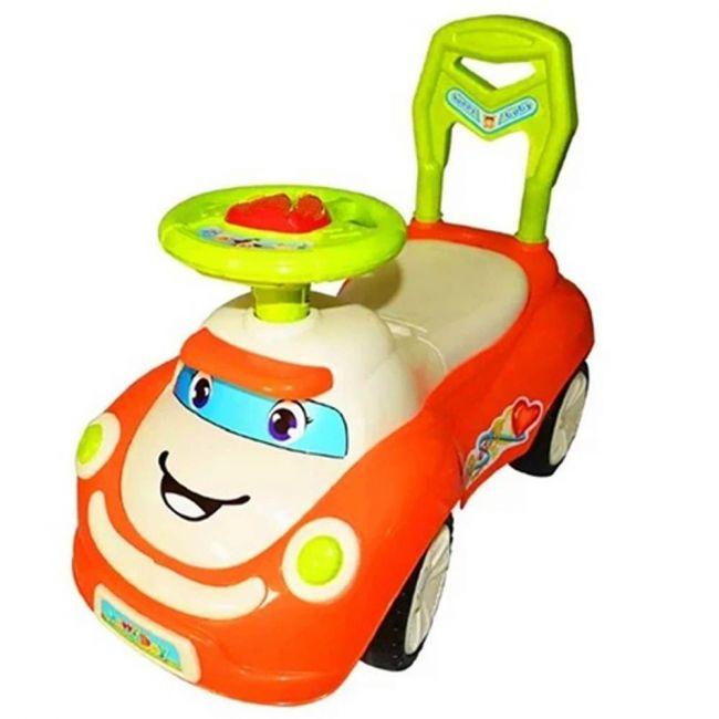 Little angel - Baby Toy Ride On Motor Car - Orange