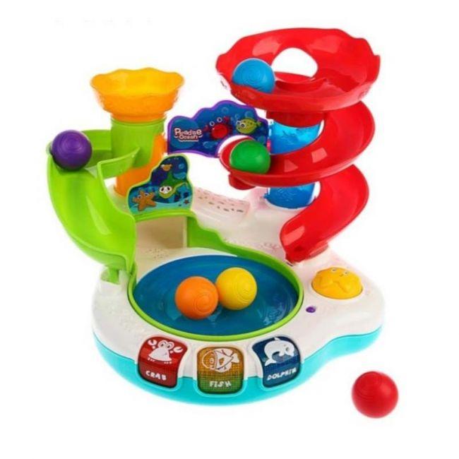 Little Angel Baby Toys Paradise Ocean Revolving Ball Series