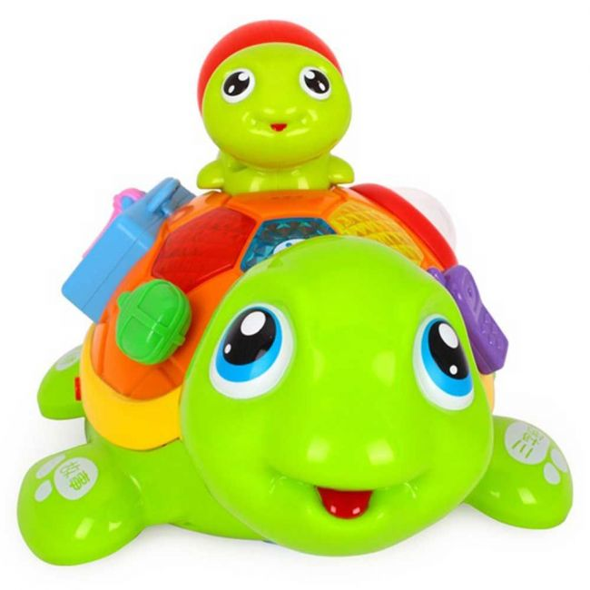 Little Angel Baby Toys Parent-Child Tortoise Interactive Toy