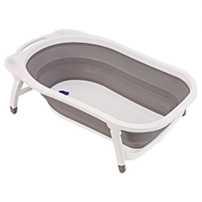 Little Angel - Foldable Baby Bath Tub - Brown