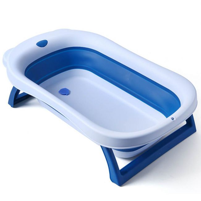 Little Angel - Foldable Bath Tub Dar Blue