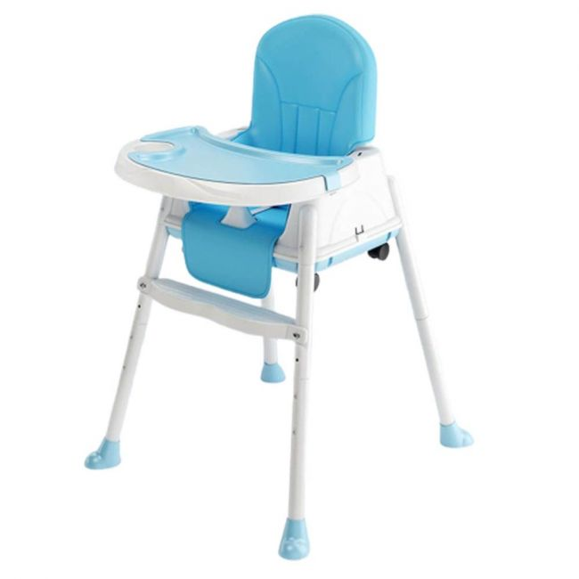Little Angel - High Chair For Babies And toddlers 3 in 1 Multifunctional Dining Blue