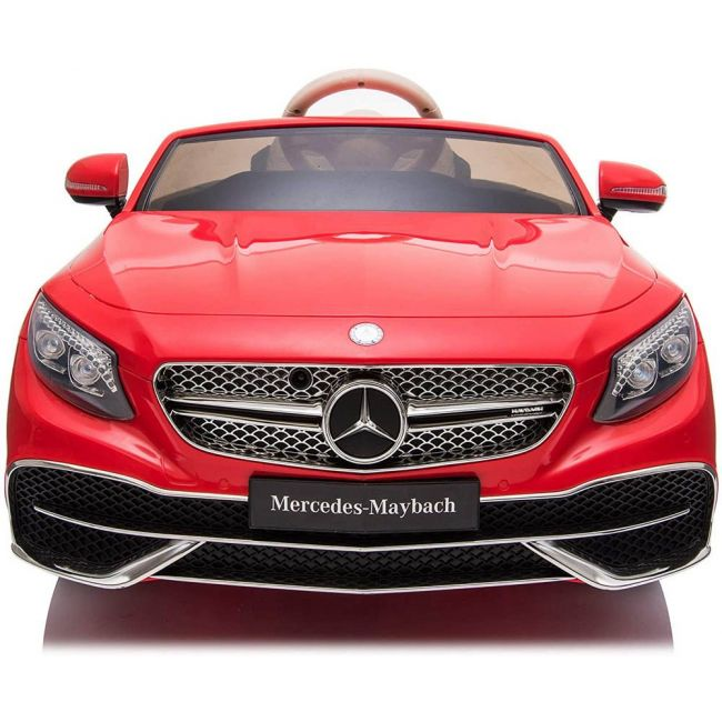 Little angel - Kids Cars Mercedes Maybach S650 Licensed Ride-On Car - ZB188-RED
