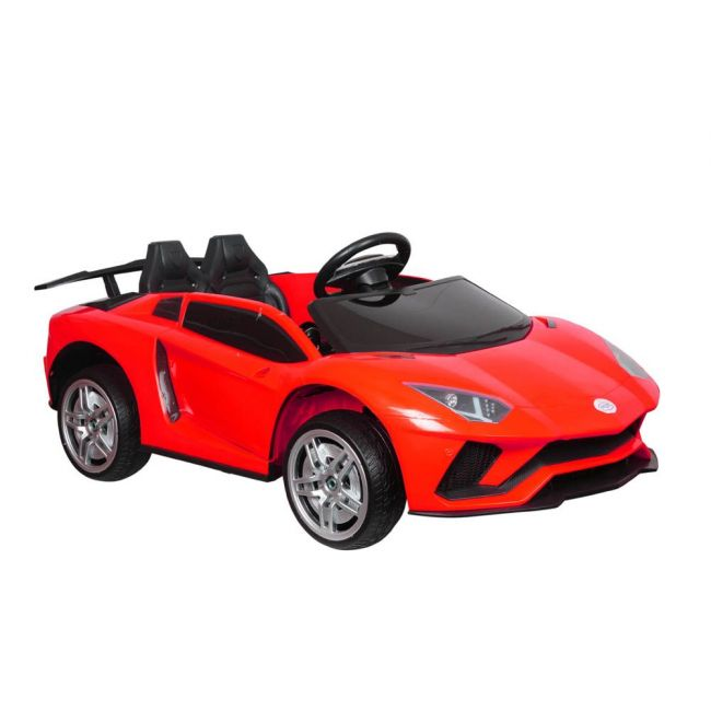 Little angel - Kids Toys Sports Lambo Ride-On Car For Kids - Red