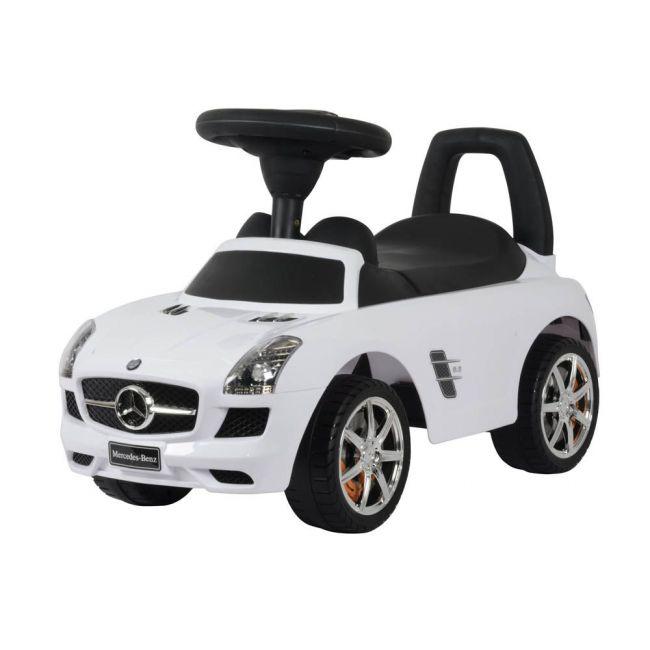 Little Angel - Mercedes-Benz Sls Amg Car Activity Ride-On - White