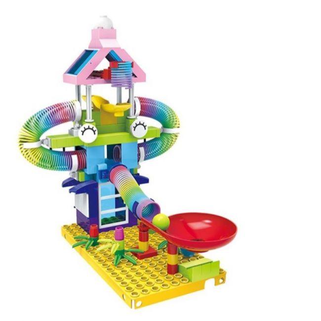 Little Angel - Rainbow Rolling Funland Building Block 153pcs