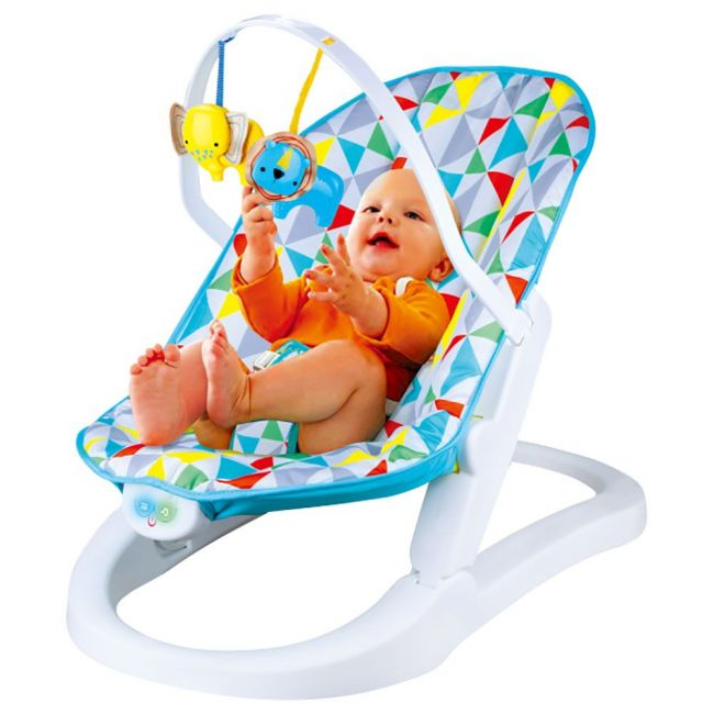 Little Angel - Rainforest Baby Rocking Chair