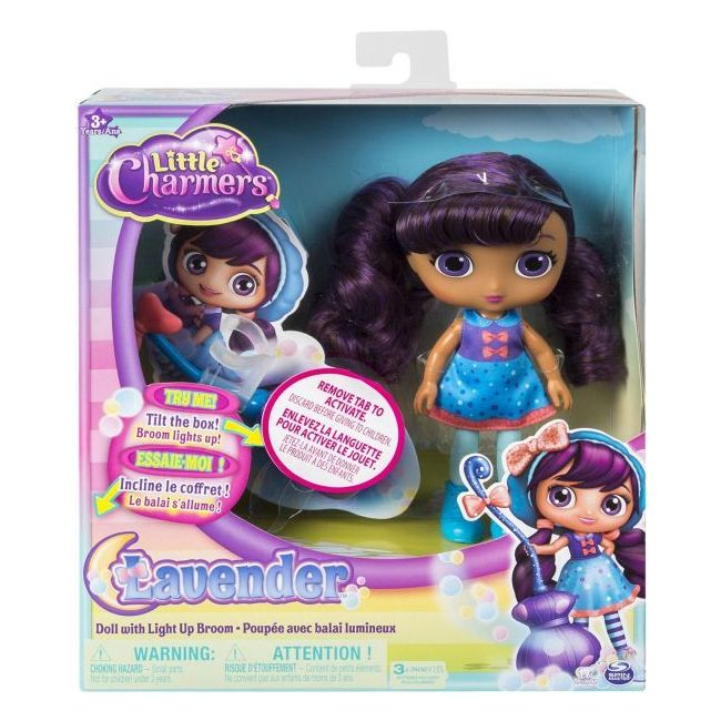 Little Charmers - 8 Doll With Light Up Broom 71714