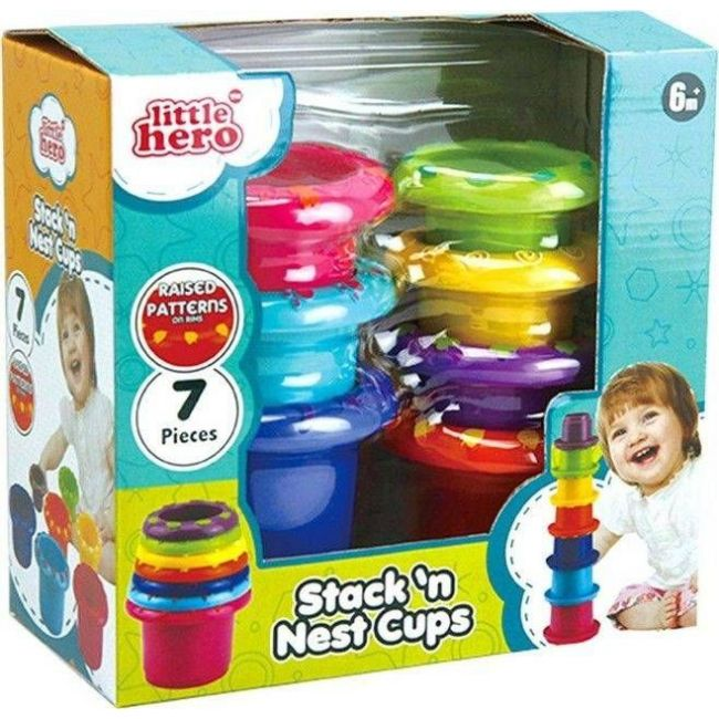 Little Hero Stack N' Nest Cups Toys