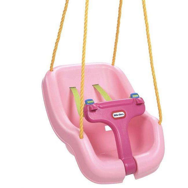 Little Tikes - 2-in-1 Snug 'N Secure Swing 4 Pack - Pink
