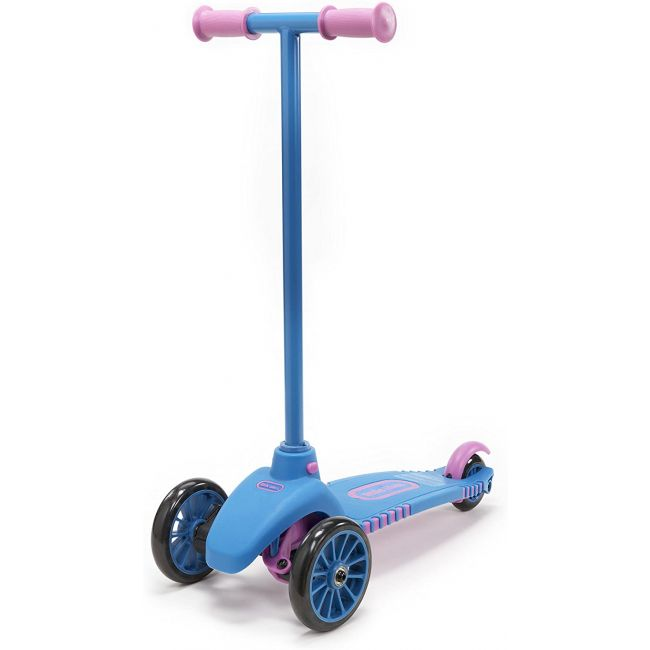 Little Tikes - Lean To Turn Scooter- Blue/ Pink