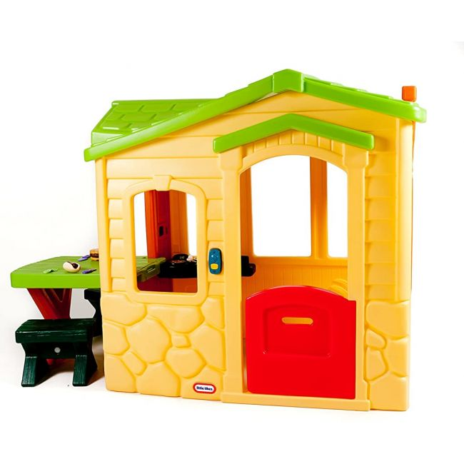 Little Tikes - Picnic on the Patio Playhouse - Natural