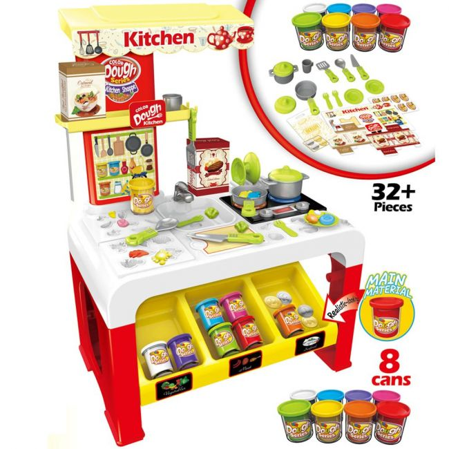 Little Story - Play-Dough Activity Table
